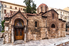 Church Panaghia Kapnikarea, Athens Royalty Free Stock Photo