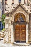 Church of Panaghia Kapnikarea, Athens Stock Photos