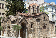 Church of Panaghia Kapnikarea, Athens Stock Photo