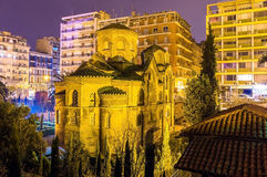 Church of Panagia Chalkeon in Thessaloniki Stock Images