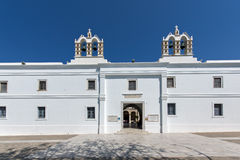 Church of Panagia Ekatontapiliani in Parikia, Paros island, Cyclades Stock Image