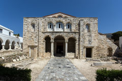 Church of Panagia Ekatontapiliani in Parikia, Paros island, Cyclades Stock Photos