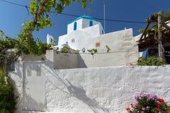 Church of Panagia Ekatontapiliani in Parikia, Paros island, Cyclades Stock Images