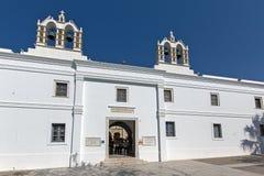 Church of Panagia Ekatontapiliani in Parikia, Paros island, Cyclades Royalty Free Stock Photo