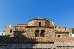 Church of Panagia Ekatontapiliani in Parikia, Paros island, CycladesChurch of Panagia Ekatontapiliani in Parikia, Paros island, Cy Royalty Free Stock Images