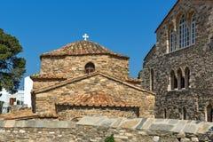 Church of Panagia Ekatontapiliani in Parikia, Paros island, Greece Royalty Free Stock Images
