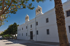 Church of Panagia Ekatontapiliani in Parikia, Paros island, Greece Royalty Free Stock Photography