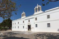 Church of Panagia Ekatontapiliani in Parikia, Paros island, Greece Royalty Free Stock Photos