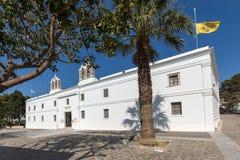 Church of Panagia Ekatontapiliani in Parikia, Paros island, Greece Stock Image