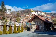 Church of `Panagia Eleousa`. Agros village, Limassol District, Cyprus Royalty Free Stock Photos