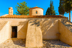 Church Panagia Kera in Kritsa in Crete Stock Photos