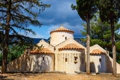 The church Panagia Kera in the village Kritsa, Crete Royalty Free Stock Images