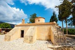 The church Panagia Kera in the village Kritsa, Crete Stock Photo