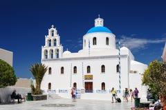 Church of Panagia, Oia, Santorini Royalty Free Stock Photography