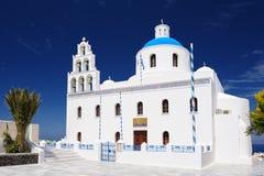 Church of Panagia, Oia, Santorini Stock Photos