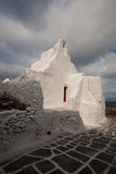 The Church of Panagia Paraportiani Stock Photography