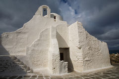 The Church of Panagia Paraportiani Royalty Free Stock Photography