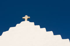 The Church of Panagia Paraportiani,Mykonos Island Stock Photos