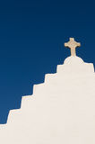 The Church of Panagia Paraportiani,Mykonos Island Stock Image