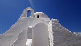 Church of Panagia Paraportiani Stock Images