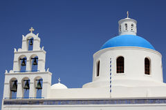 Church Panagia of Platsani, Oia, Santorini, Greece Royalty Free Stock Photography
