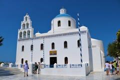 Church of Panagia, Oia, Santorini Royalty Free Stock Images