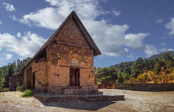 Church of Panagia tis Asinou. Nikitari. Cyprus Stock Photography