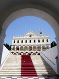 Church of Panayia Evangelistria in Tinos Royalty Free Stock Photo