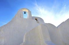 Church of Panayia Paraportiani, Mykonos, Greece Royalty Free Stock Images