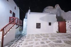 Church of Panayia Paraportiani, Mykonos, Greece Stock Image