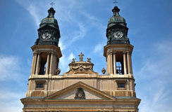 Church, Papa, Hungary Stock Photography