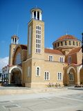 Church of Paralimni. Royalty Free Stock Image