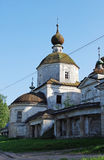 Church Paraskev Fridays in the city of Staritsa. Tver region. Russia Royalty Free Stock Photos