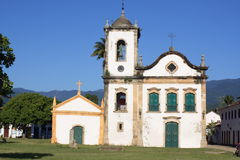Church in Parati Stock Image