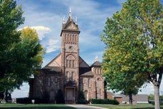Church in Paris, Utah Royalty Free Stock Photo