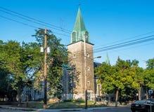 Church. Parish:Saint-Barnabé-Apôtre, Catholic Church of Montreal Royalty Free Stock Image