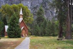 Church in  park Stock Photos