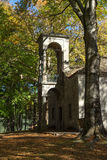 Church and Park in Town of Metsovo, Epirus Royalty Free Stock Photos