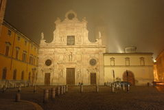 Church in Parma (Italy) royalty free stock photography