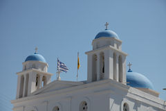 Church on Paros island Royalty Free Stock Photography