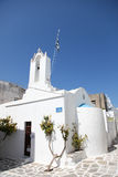 Church on Paros island Royalty Free Stock Photo