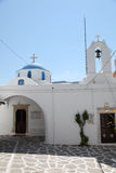 Church on Paros island Stock Photography