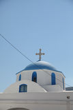 Church on Paros island Royalty Free Stock Images