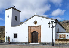 Church Parroqial de Santa Maria, Senes Village Stock Images