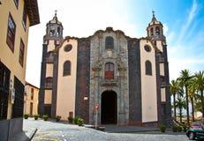 Church Parroquia de La Concepción a Orotava, Tenerife, Spagna. Fotografia Stock Libera da Diritti