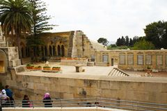 Church of Pater Noster, Mount of Olives, Jerusalem royalty free stock photo