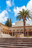 Church of the Pater Noster, Mount of Olives, Jerusalem Stock Photo