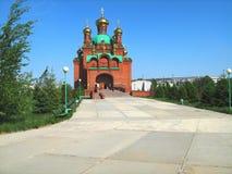Church. Pavlodar. Kazakhstan Royalty Free Stock Photography