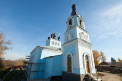 Church in Pavlov Posad city Stock Photos