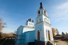 Church in Pavlov Posad city Stock Photos